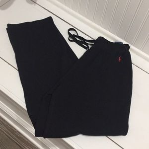 NWT polo Ralph Lauren comfy black pants